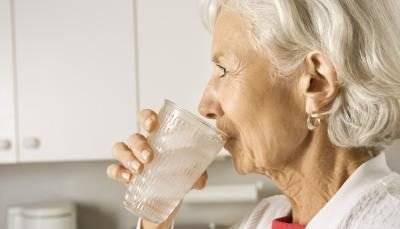 Drink Water Seniors!