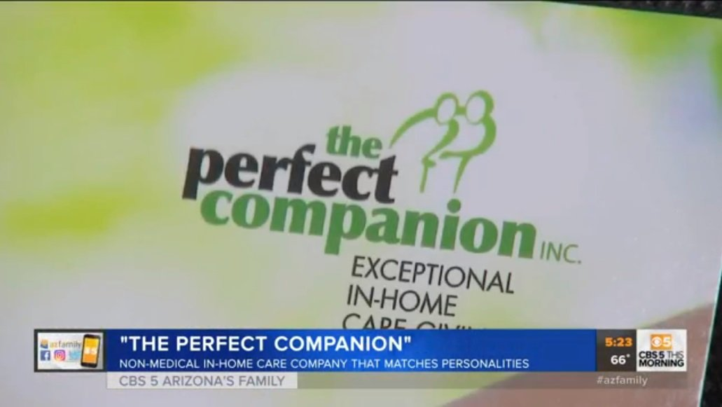 The Perfect Companion Featured On AZFamily With Yetta Gibson