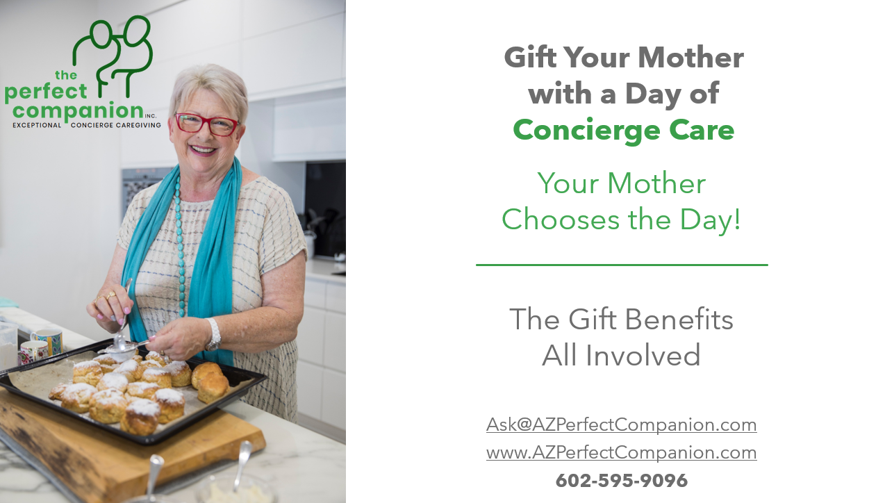 Perfect Gift Idea For Mom – A Day Of Exceptional (and Very Safe) Care