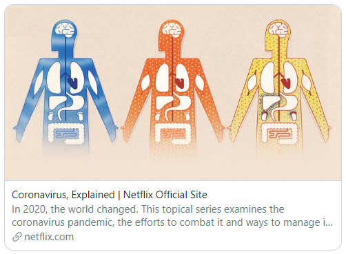 Netflix trailer for its exceptional series Corona virus Explained
